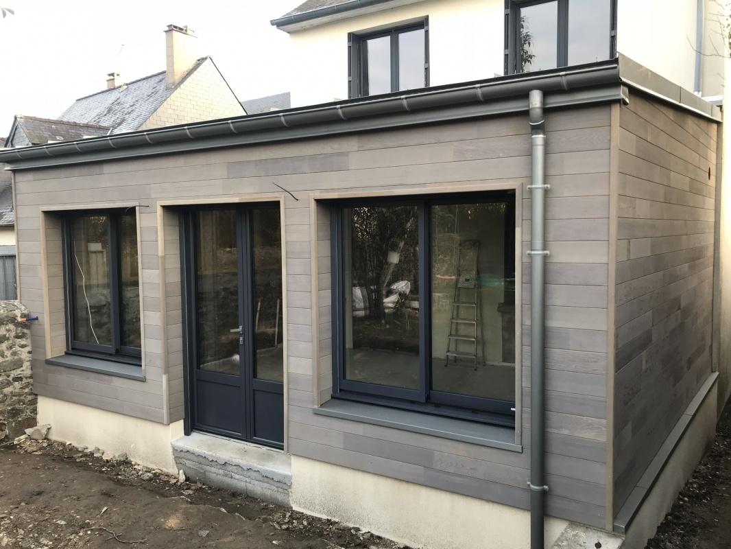 Devis Extension Maison à Saint-Cyr-l'École ▷ Agrandissement Bois, Acier, Parpaing
